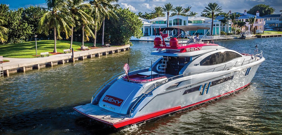 Motor Yacht Sexy Lazzara Yacht Harbour