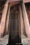 60 ft high solid teak pillars