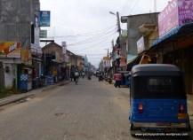 Main street and tuk-tuk