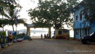 Jetty and harbour