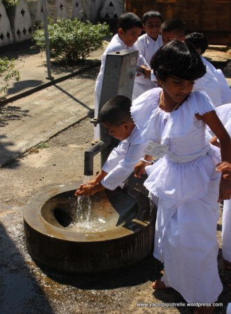 Just washing hands after Sunday school!