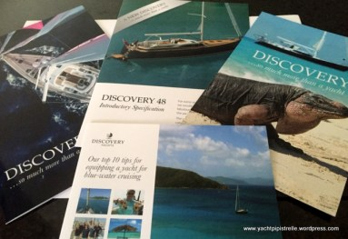 Tempting product brochures