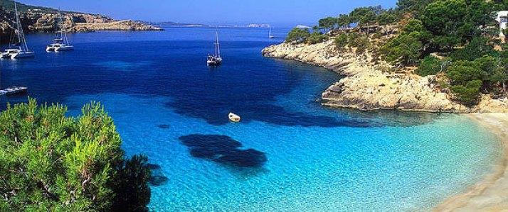 Navegar en vela por Ibiza