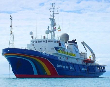 Anecdota marinera Greenpeace Esperanza