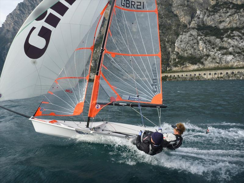 29er Eurocup At Fraglia Vela Riva Lake Garda After Day 3