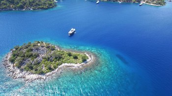 Gocek islands Turkey
