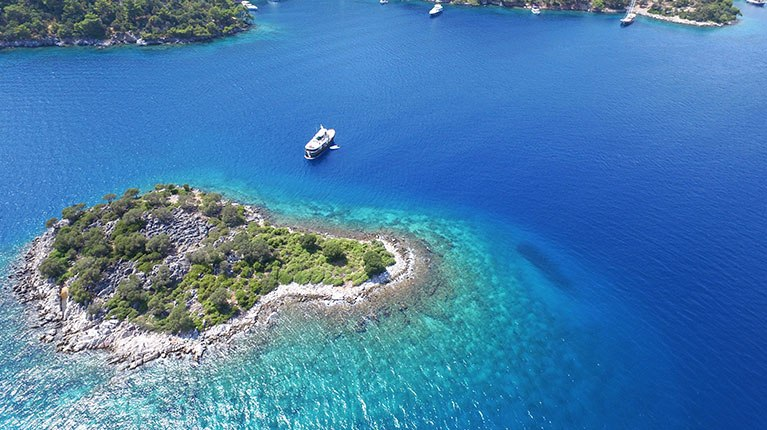 Turkey Charter Boat Holidays for Island Hopping Fun