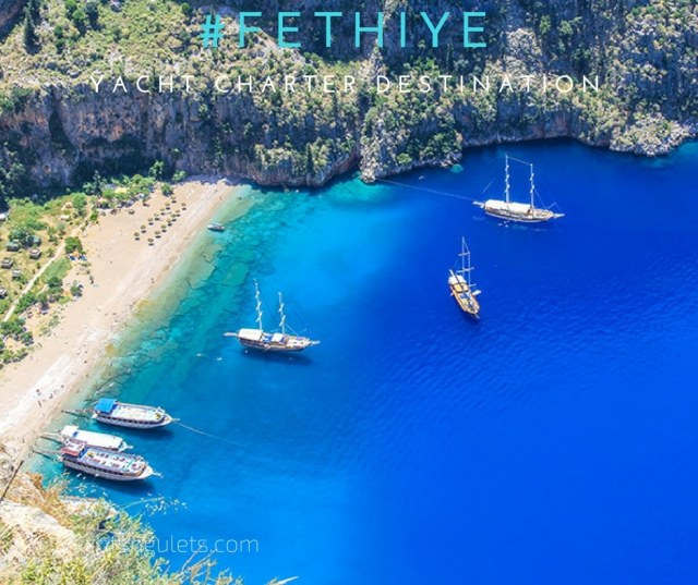 Fethiye yacht charter destination Turkey