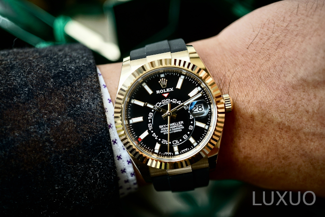 New-Rolex-Sky-Dweller-with-Oysterflex-Bracelet-Sportive-Sophistication-6