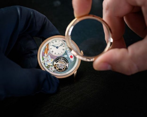 Arnold-Son-Ultrathin-Tourbillon-Koi-Bespoke-Crafts-meets-watchmaking-4-624x499