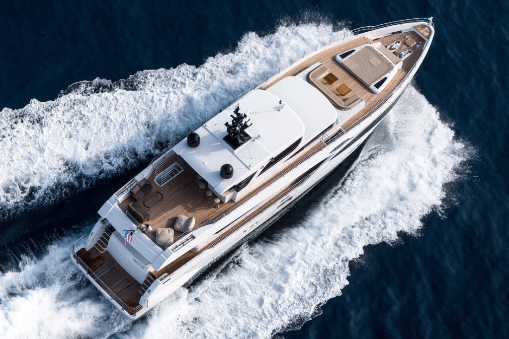 Gulf Craft, Majesty 10, hull 10, UAE, Turkey, delivery, yacht,