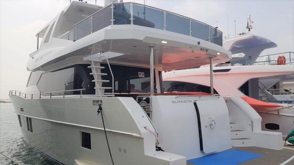 Gulf Craft, Nomad, 65, Fly, Solar, Electric, motor, yacht, boat