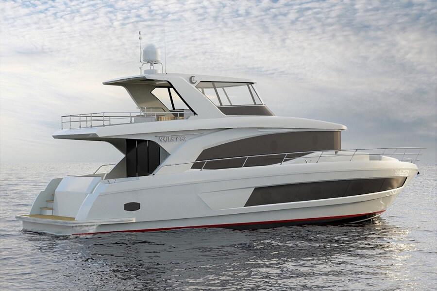 Gulf Craft, Majesty, 62, Maldives, Farfalla Marine, Hong Kong, Thailand, Yacht, Boat, Flybridge