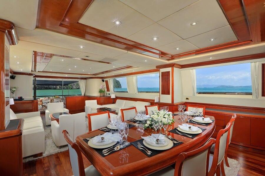 Fraser, yacht, superyacht, charter, Thailand, Asia, Camara C, Demarest, John Legend