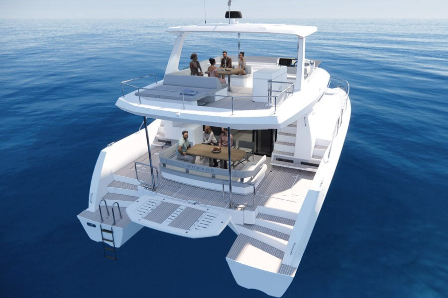 Leopard, Catamaran, powercat, power, 46, 2022