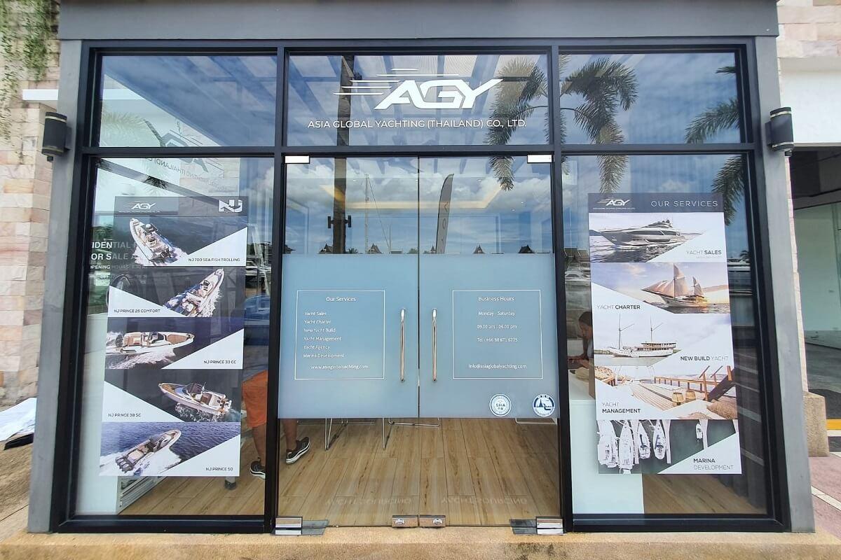 Asia Global Yachting, Nicolas Monges, Xavier Fabre, Thailand, Royal Phuket Marina, Indonesia, Bali, Ferretti Yachts, Pershing, Nuova Jolly