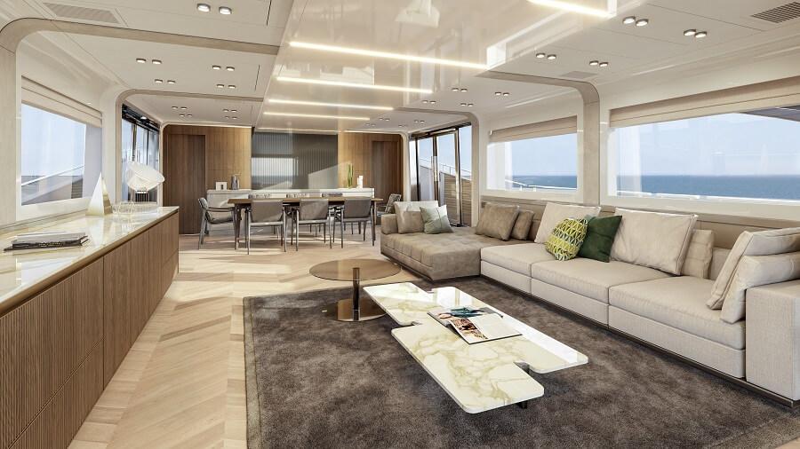 Monte Carlo Yachts, MCY, 105, Signature Edition, Dan Lenard, Carlo Nuvolari, Serio Loiacono, customisation, personalisation