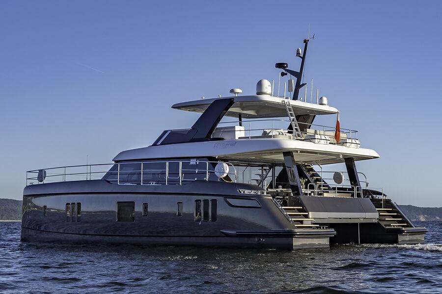 Aquila, Power, Catamarans, Sunreef, Silent 60, powercats