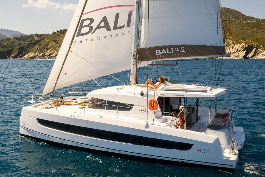 Bali, 4.2, sail, sailing, catamaran, France, Canet, Catana, Asiamarine, Hong Kong, Asia