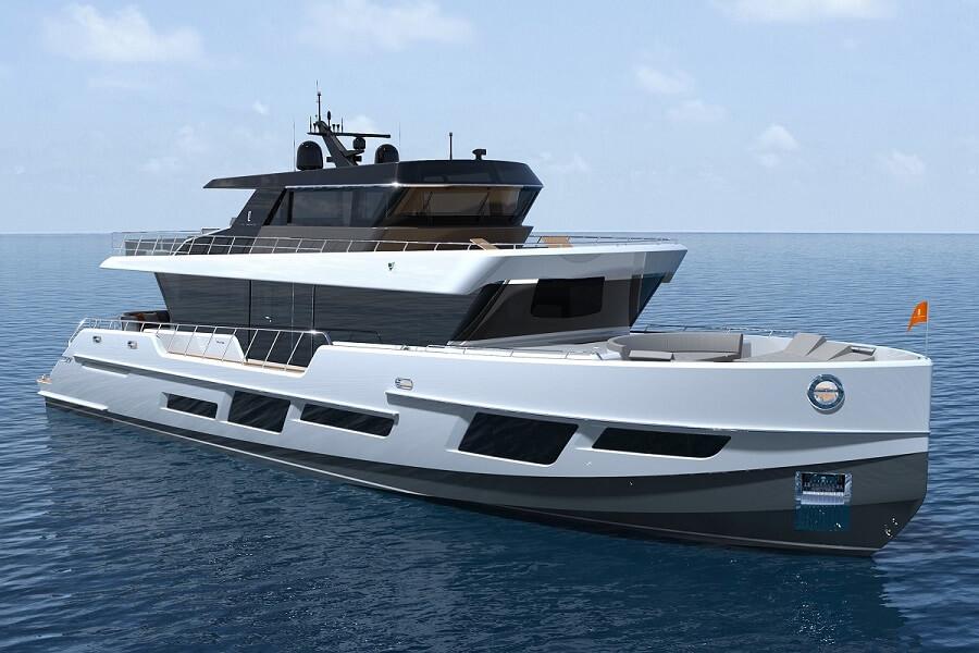 CLX96, CL Yachts, Jozeph Forakis, 2022, Sea Activity Vessel, SUV, Award, winner, Yacht & Aviation, Good Design, A'Design,