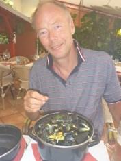 Vinkokta musslor, underbart gott...