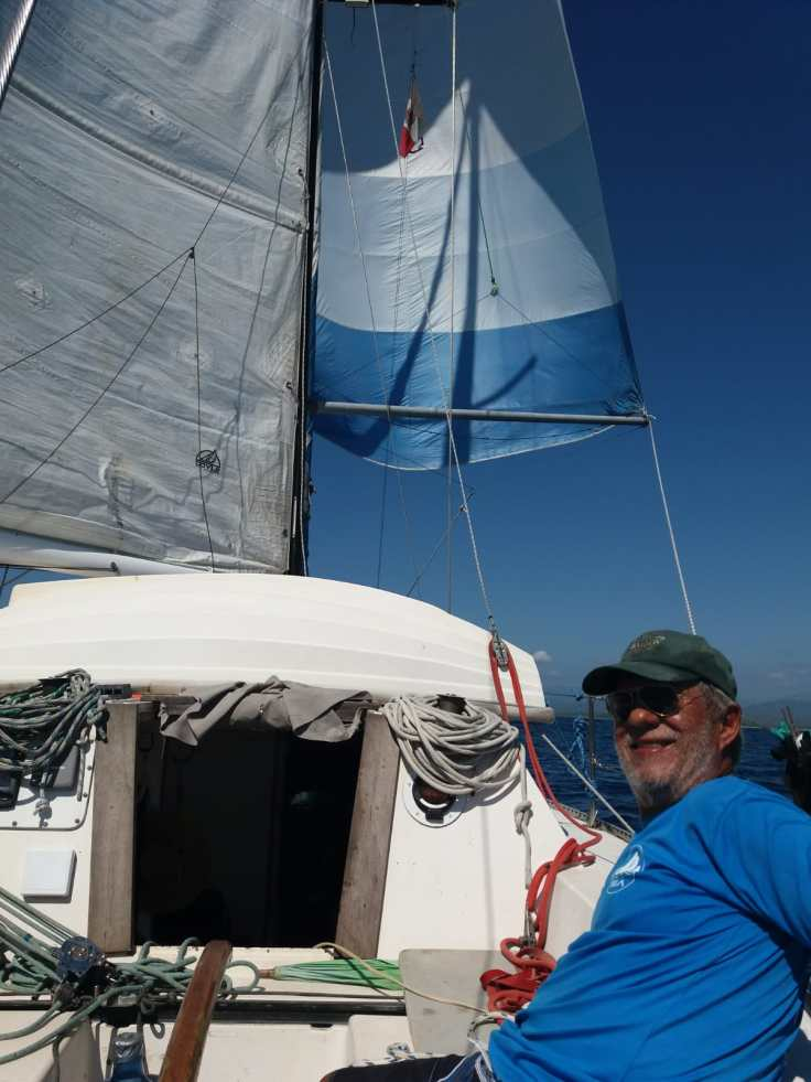 Sailing with dad