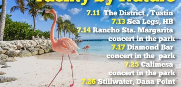 yacht rock music band concert tribute july 2019 smooth pleasure cruise crew soft rock sea legs district tustin hb oc orange county los angeles vegas arizona