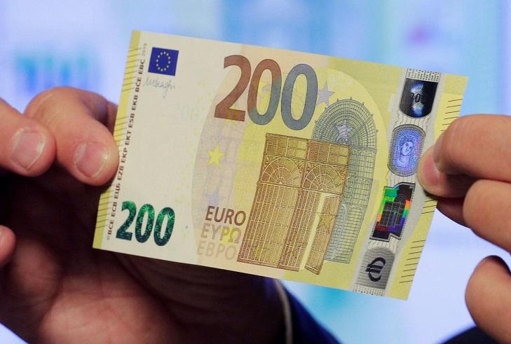 """Europa bankjegyek az """"Európa"""" sorozatból"""