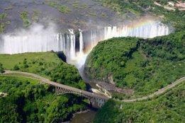 mosi-a-tunya (victoria falls)