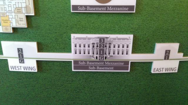 ホワイトハウスの内部