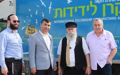ראש העיר בת ים ביקר במפעלי החסד 'יד ביד'