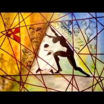 "Untitled, Acrylic on canvas, 48""x24"" 2006"