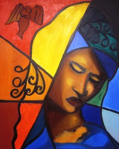 """Mariam: Oil on Canvas: 16""""x24"""" 2011"""