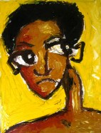 Loner Series: Acrylic on Canvas: 8x10 2007 SOLD
