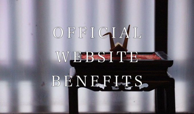 Official Web Reservation Benefits
