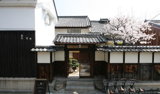 庄屋屋敷の桜