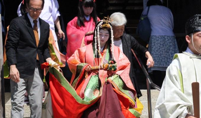 [9月9日]京都 上賀茂神社 重陽行事・烏相撲