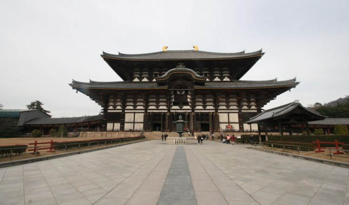 [12月31日]奈良 東大寺 大仏殿 除夜の鐘