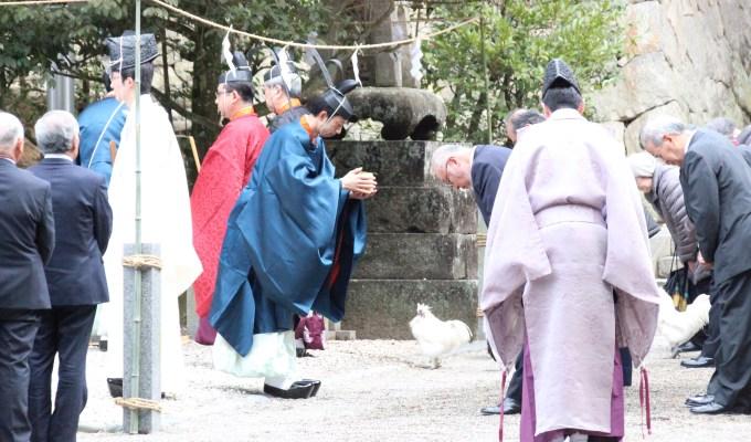 [2月19日]奈良 石上神宮 祈年祭