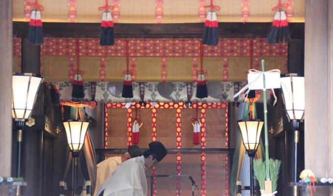 [立春の日]奈良 大神神社 立春祭