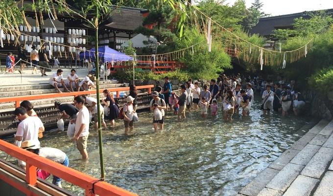 [「土用の丑の日」前後4日間]京都 下鴨神社 みたらし祭