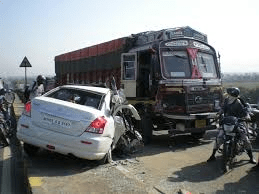 Indian road accedent