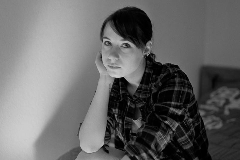 portrait : Gabrielle (argentique)