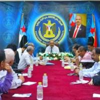 الجعدي يرأس اجتماعاً مشتركا للأمانة العامة والقيادات المحلية بالمحافظات