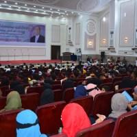جامعة عدن تختتم فعاليات أسبوع الطالب الجامعي بحفل خطابي تكريمي وفني