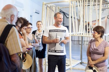 """Curators Tour at """"Mythographies"""""""
