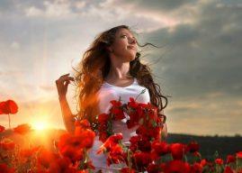 Сила женщины в красоте и слабости