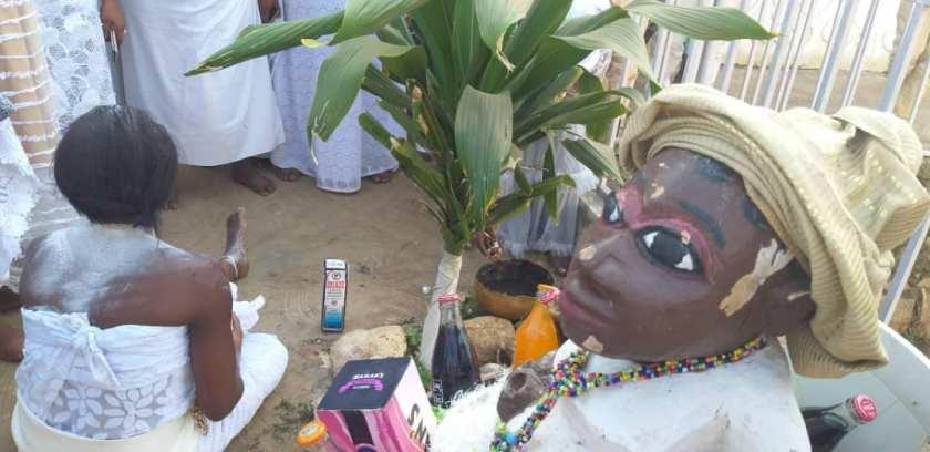 Egbe Shrine Yoruba