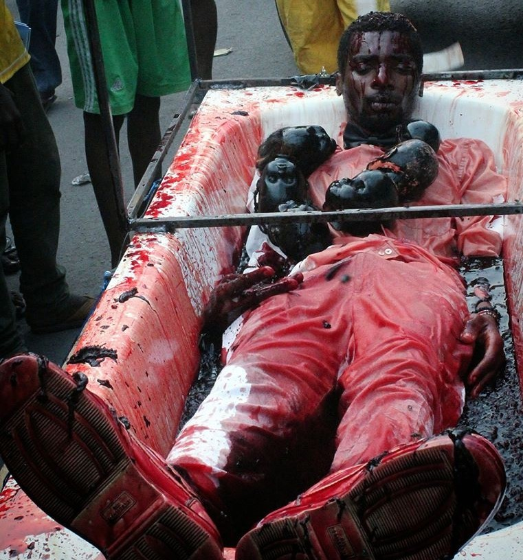 Human Blood Sacrifice