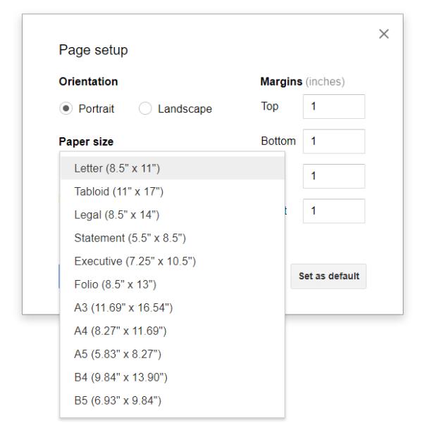 Setup Docs Google Apps Script